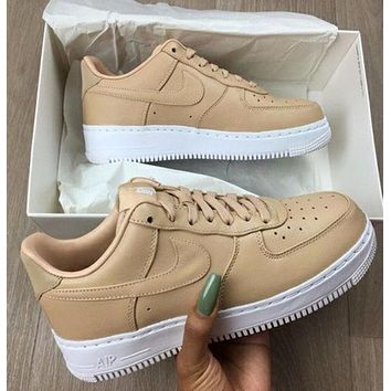 Samplefine2 Nike Air Force 1 Low AF1  Trending Women Casual Sport Running Shoe Sneakers I/A