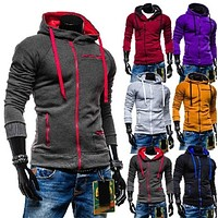 2018 Men's Colorful Pullover Hoodies