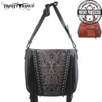 Montana West TR12G-8287 Trinity Ranch Tooled Concealed Carry