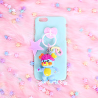 [Pixie] Toy Keyring Phone Case Mint Pretty Cool Popples