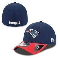 New England Patriots NFL New Era 39Thirty hat new with stickers PATS Football Large-XL Fit