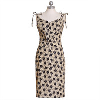 midnight blooming floral dress by 50 Dresses - $87.99 : ShopRuche.com, Vintage Inspired Clothing, Affordable Clothes, Eco friendly Fashion
