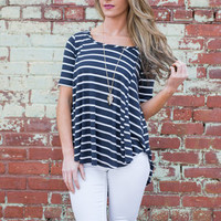 Day Dreaming Top, Navy