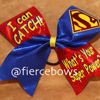 I Can Catch Cheer Bow