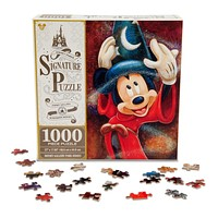disney parks signature 1000 piece puzzle mickey sorcerer fantasia new with box