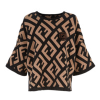 Fendi Fashion New More Letter Leisure Top T-Shirt Women