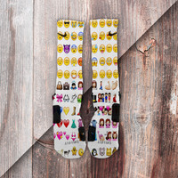 Emoji Custom Nike Elite Socks