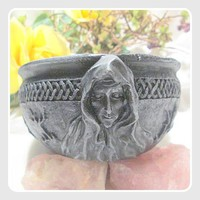 Maid, Mother, Crone Scrying Bowl