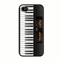 iPhone 5 Case Piano iPhone 5s Keyboard  Back Cover iPhone 5 5s Hard Case Piano Keys 113