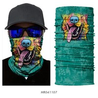 3D outdoor Sport Scarf Neck Tube Mask Fishing bandanas bicycle scarf headband neck warmer bandana Hiking balaclava cycling men