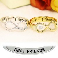 """Best Friends"" Infinity Ring"