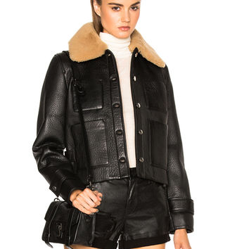 Acne Studios Felipa Jacket in Black | FWRD