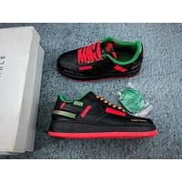 Nike Air Force 1 07 Frontal Panel Wearable Temporary Black/ Red/ Blue
