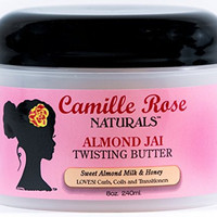 Camille Rose Naturals Almond Jai Twisting Butter, 8 Ounce