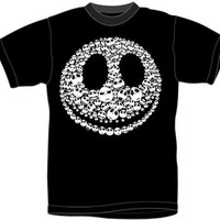 Nightmare Before Christmas T-Shirt - Faces Of Jack