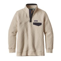 Patagonia Women's Cotton Quilt Snap-T® Pullover | Toasted White