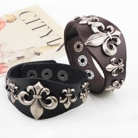 Alloy Punk Men Romantic Rivet Accessories = 5858350017
