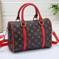LV Louis Vuitton Fashion Casual Print Tote Shoulder Crossbody Bag