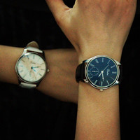 Comfortable Vintage Fashion Quartz Classic Watch Round Ladies Women Men wristwatch On Sales = 4662245700