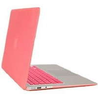 Gearonic Rubberized PC Hard Case with Keyboard Cover and Screen Protector for 11-Inch Macbook Air, Pink (5081PPUIB): Computers & Accessories