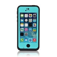VicTsing Waterproof Case Dirtproof Snowproof Shockproof Carrying Case Protection Cover for iphone 5C Light Blue