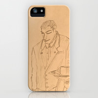 The Waiter iPhone & iPod Case by Bruce Stanfield