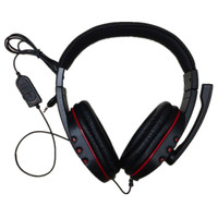 Big Wired PS4 gaming Headset earphones with Microphone Headphone for PS4 games