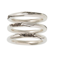 cracked ring set