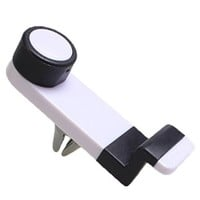Vehicle Air Vent Phone Holder Support 3.5 to 6.3inch Smartphones (White)