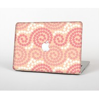"""The Pink Spiral Polka Dots Skin Set for the Apple MacBook Air 13"""""""