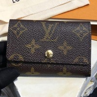 DCCKJ1A Louis Vuitton presbyopia six key bag F