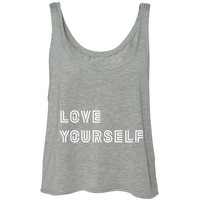 """BTS """"Love Yourself"""" Cropped Tank Top"""