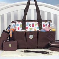 Soho Soren the Owl 6 in 1 Deluxe Diaper Bag *Limited Time Offer !*