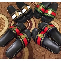 Versace Women Fashion Casual Slipper Shoes men and women