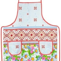 "Kitchen apron ""Daisies"""