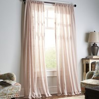 Quinn Sheer Dove Curtain