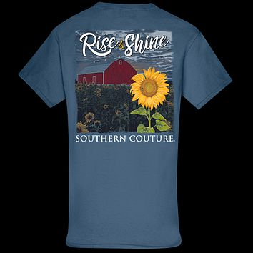 Southern Couture Classic Rise & Shine Sunflower T-Shirt