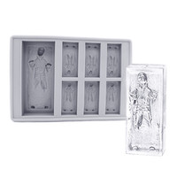 Star Wars Han Solo Carbonite Ice Mold