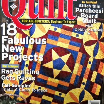 Quilt Magazine, Fall 2004 Issue