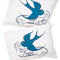 ModCloth Critters Too Cute to be True Pillow Sham Set