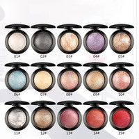 UBUB Brand Professional Shimmer Eye Shadow Makeup Palette Waterproof Long Lasting Mineral Powder Baked Eyeshadow Single Palette