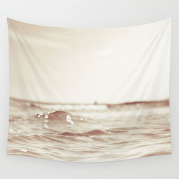 Let´s go to the bleech Wall Tapestry by HappyMelvin