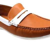 Men's Driving Shoes classic Penny Loafers Deck Comfort Moccasin - Gamez