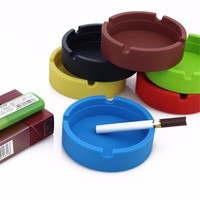 Premium Round Silicone Ashtray