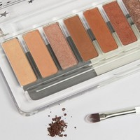 Lottie Shadow Swatch Eyeshadow Palette - The Rusts at asos.com