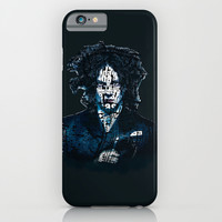 Typo-songs Jack White iPhone & iPod Case by Daniac Design