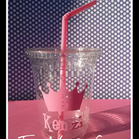 12/12OZ Princess cups/Age &name/princess party/princess birthday party/princess party favors/princess kids cups/kids party cups/