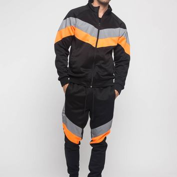 Reflective Neon Tracksuit