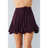 To Love Somebody Skirt (Plum)