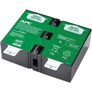 Apc By Schneider Electric Replacement Battery Cartridge #123